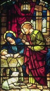 Calvary Episcopal Nativity detail